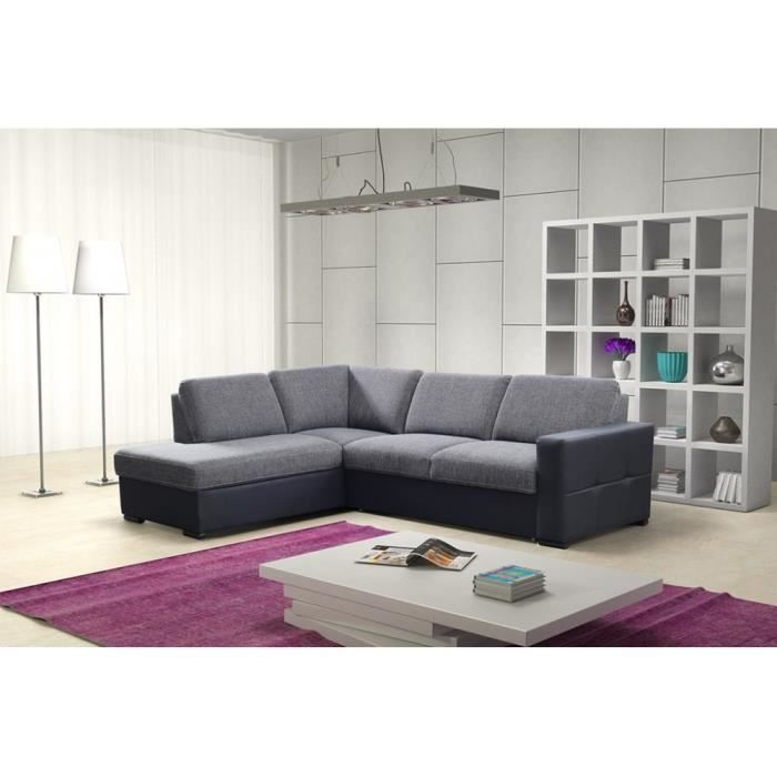 canap lit d 39 angle sameo achat vente canap sofa divan cdiscount. Black Bedroom Furniture Sets. Home Design Ideas