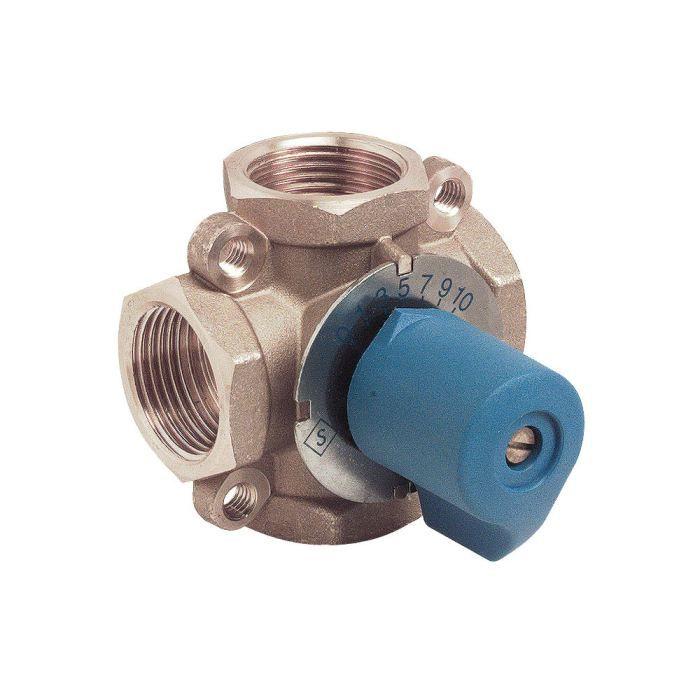 Bazaar Osmoseur vanne d/'arr/êt 1//4 de pouce 4 chemin inverse eau filtre automatique