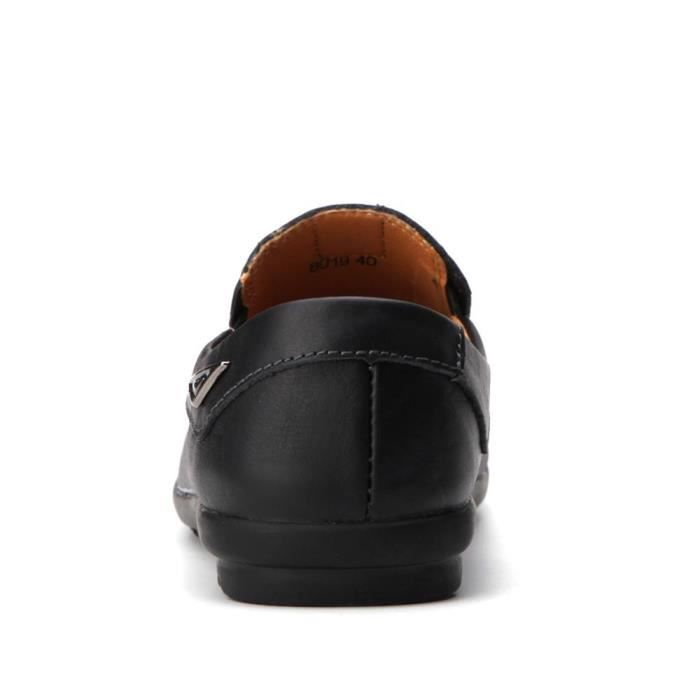 Cuir Hommes Lazy Chaussures souples Mocassins Mode Hommes Chaussures Flats Comfy Driving-*-4966