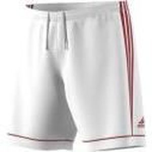 ADIDAS SQUAD 17 SHO Short de football junior - Blanc / Rouge