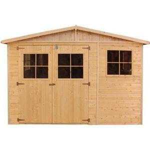 ABRI JARDIN - CHALET ABRI de jardin en bois  M334 - TIMBELA-maison de j