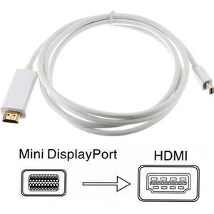 CÂBLE AUDIO VIDÉO Adaptateur Mini DisplayPort vers HDMI Câble mDP Mi