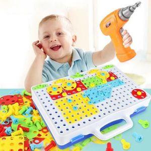 TABLE JOUET D'ACTIVITÉ Mosaique Enfant, Jeux De Construction Mosaïque Jou