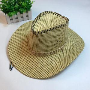 CHAPEAU - BOB Mode unisexe occidental Chapeau de cowboy pour Gen