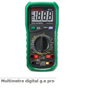 MULTIMÈTRE Déstock Outifrance - Multimètre Digital Pro 600V-1