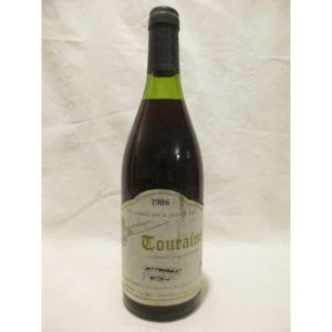VIN ROUGE touraine gibault gamay rouge 1986 - loire - tourai