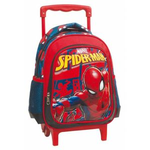 CARTABLE Sac à roulettes trolley maternelle Spiderman Marve