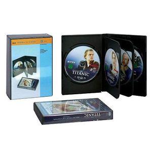 CD - DVD VIERGE 3 DVD-durs boîtes de 6 DVD avec un film transpa…