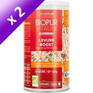 DIGESTION - TRANSIT  BIOPUR Super Mix Levure boost et graines germées -