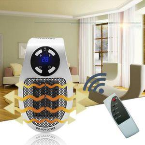 RADIATEUR D'APPOINT Mini Ventilateur de Chauffage Prise Murale Espace