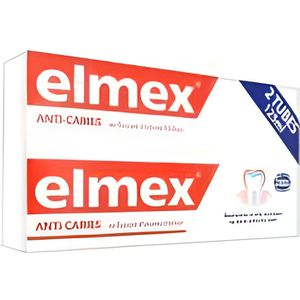DENTIFRICE Elmex Dentifrice Protection Caries Lot de 2 x 125