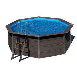 BÂCHE - COUVERTURE  Bâche à bulles pour piscine composite ronde Ø 4,10
