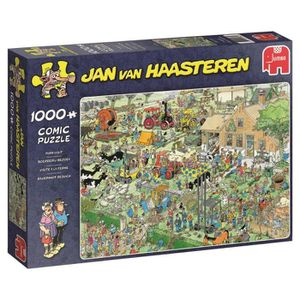 PUZZLE puzzle Jumbo Ferme Visite 1000 Pièces