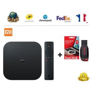 BOX MULTIMEDIA XIAOMI MI TV BOX S - Android 8.1 TV 4K HDR - Accès
