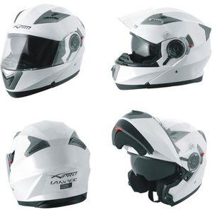 CASQUE MOTO SCOOTER Casque Modulable Moto transformable Visière Pare S
