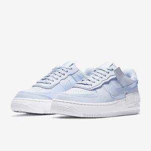 Air force 1 bleu pastel - Cdiscount