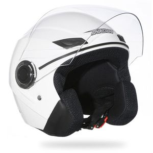 CASQUE MOTO SCOOTER Casque Moto Scooter Jet NOX N630 Blanc