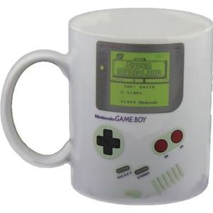 BOL - MUG - MAZAGRAN Nintendo - Mug Game Boy Thermo-reactif