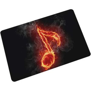 PAILLASSON @M4384 Tissu Home Paillasson Musique Zélote Série