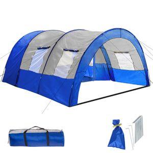 TENTE DE CAMPING TECTAKE Tente de Camping Familiale 4 à 6 Places, T