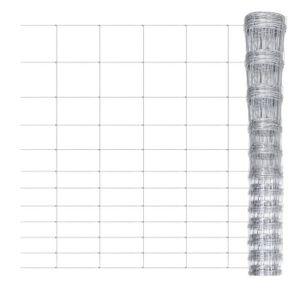 CLÔTURE - GRILLAGE Clôture de jardin 50 m x 150 cm Grillage galvanisé