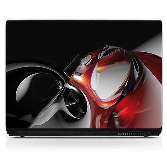 Sticker pc ordinateur portable Netbook autocollant Laptop réf 278