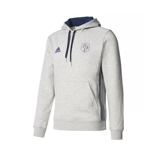 Sweat shirt Rugby France FFR Bleu Prix pas cher Cdiscount