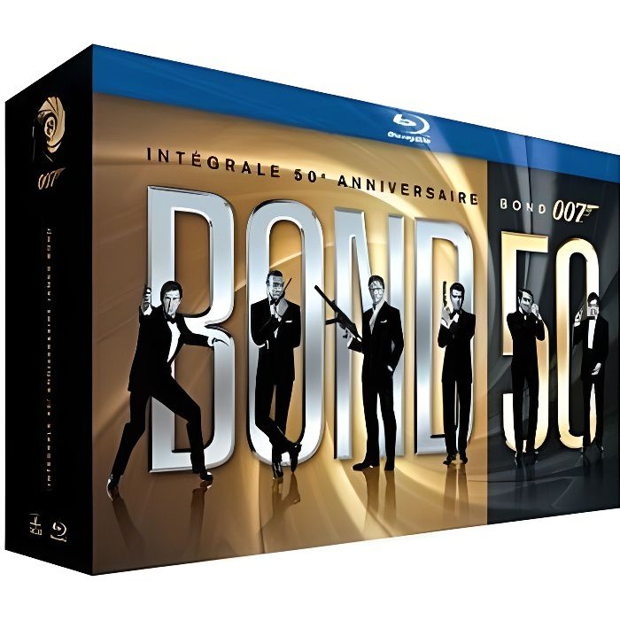 BLU-RAY FILM Blu-Ray Coffret intégrale James Bond