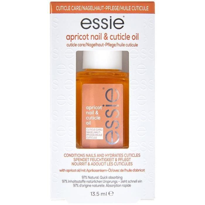 Essie Huile abricot sérum pour ongles et cuticules - 13,5 ml