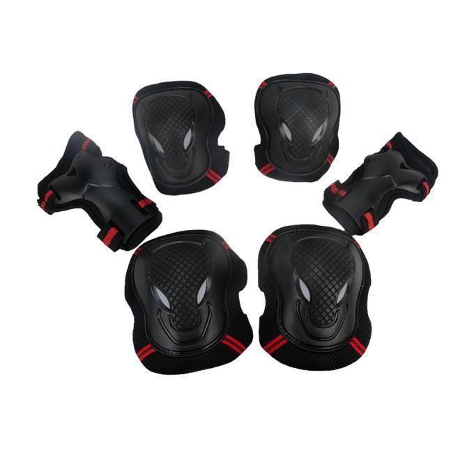Genouillères BMX vélo et coudières avec Guards poignet de protection Gear Set huanlemusi445