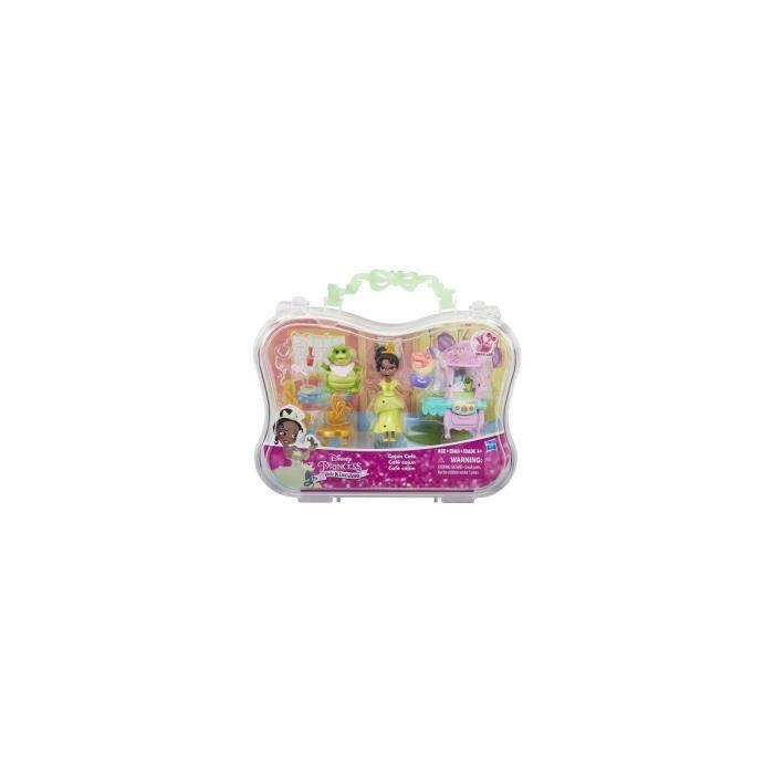 Cafe de Tiana - Mini-poupee - Instants magiques - Disney Princess Little Kingdom
