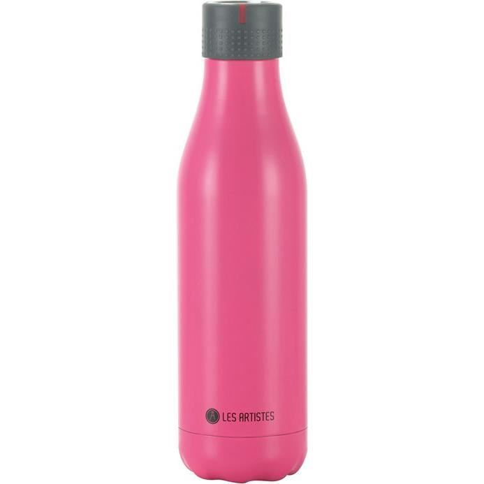 Bottle up isotherm rose brillant 500ml