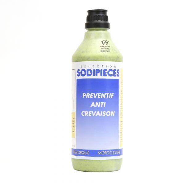 Préventif anti crevaison pour roue de tondeuse. Shark Oil - OKO. Flacon 500 ml