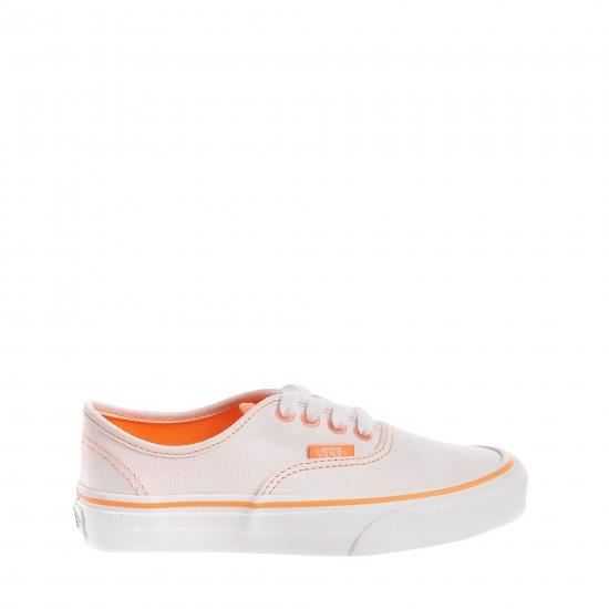 VANS - Basket Authentic Orange - Enfant