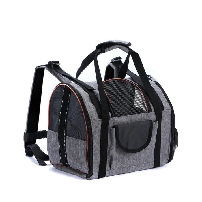##Sac de transport pour chat pour chien Sac à dos pour animaux - 35 * 23 * 28cm