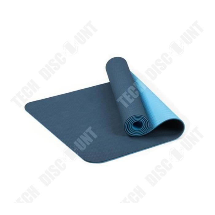 TD® Tapis de yoga classique Yoga Mat Pro TPE Eco Friendly Antiderapant Fitness Tapis d'exercice Sport 1636