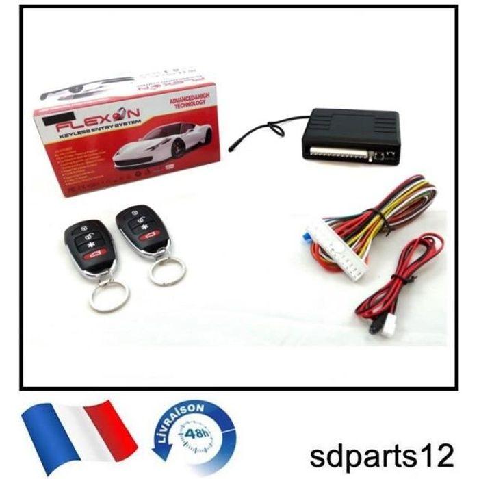 Kit de Verrouillage Centralisé avec 2 Télécommandes pour PEUGEOT 106 206 306