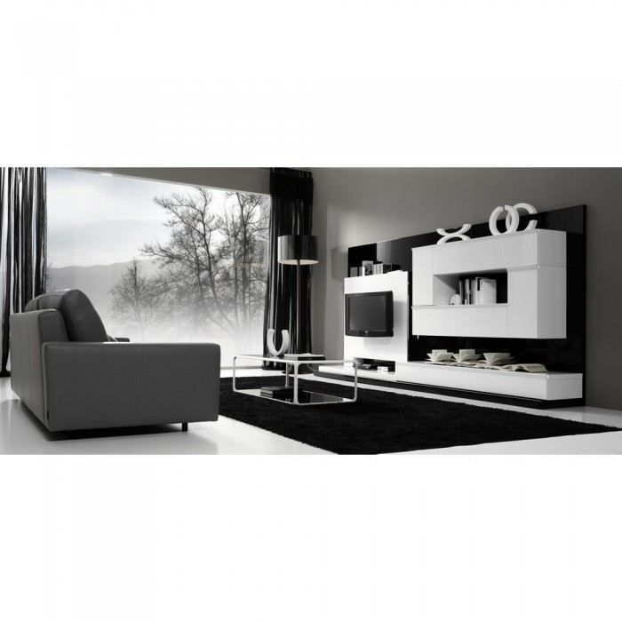 meuble de salon mural feliz une exclu atylia ma achat vente meuble tv meuble de salon mural. Black Bedroom Furniture Sets. Home Design Ideas