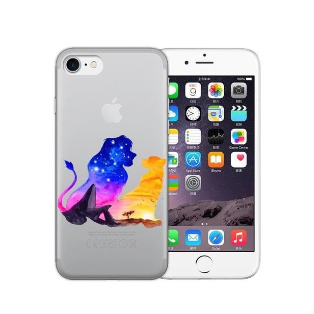 coque roi lion iphone x