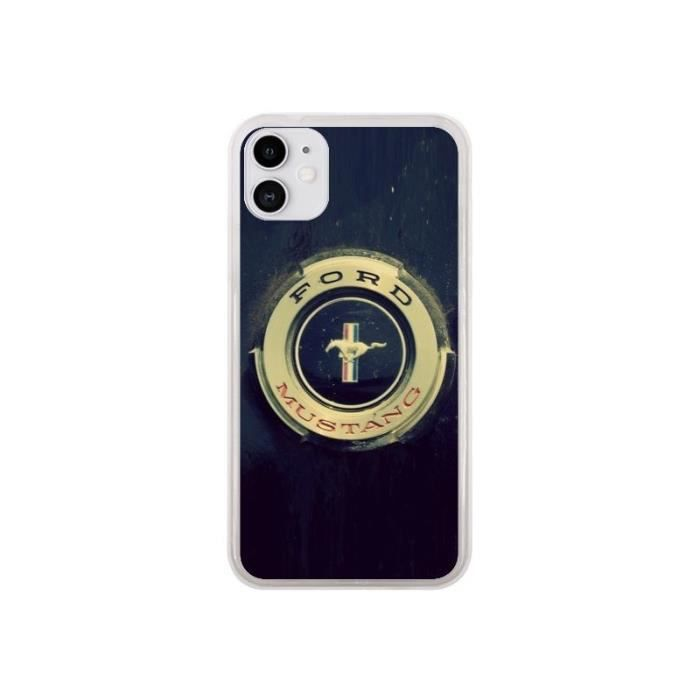 Coque iPhone 11 Ford Mustang Voiture - R Delean 0,