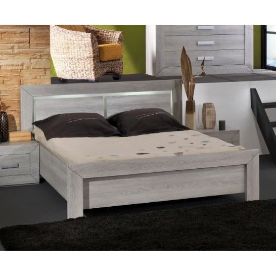 lit adulte virginia 140 x 190 cm ou 160 x 200 cm ou 180 x 200 cm achat vente structure de. Black Bedroom Furniture Sets. Home Design Ideas