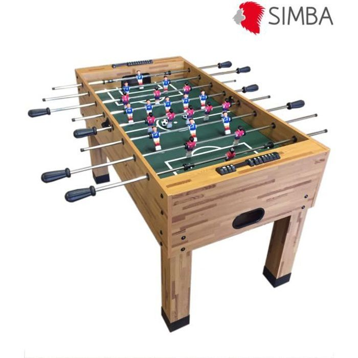 babyfoot baby foot table soccer table soccer table de jeu football maracana robuste durable. Black Bedroom Furniture Sets. Home Design Ideas