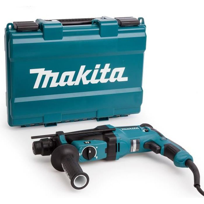 makita perforateur burineur sds plus hr2630 800 w avec. Black Bedroom Furniture Sets. Home Design Ideas