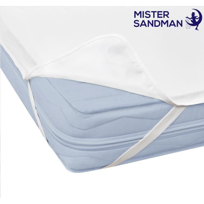 PROTÈGE MATELAS  Protège matelas 90x190 imperméable incontinence Al
