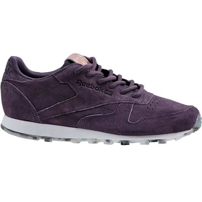 Reebok Sport Classic Leather Shimmer BD1520 Autres - Chaussures Chaussures-de-sport Femme
