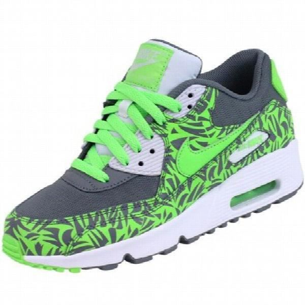 Nike Air Max 90 Mesh (gs) Sneaker Captage 2016 Couleurs différentes B4K95 Taille-36 1-2