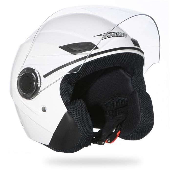casque moto scooter jet nox n630 blanc achat vente. Black Bedroom Furniture Sets. Home Design Ideas