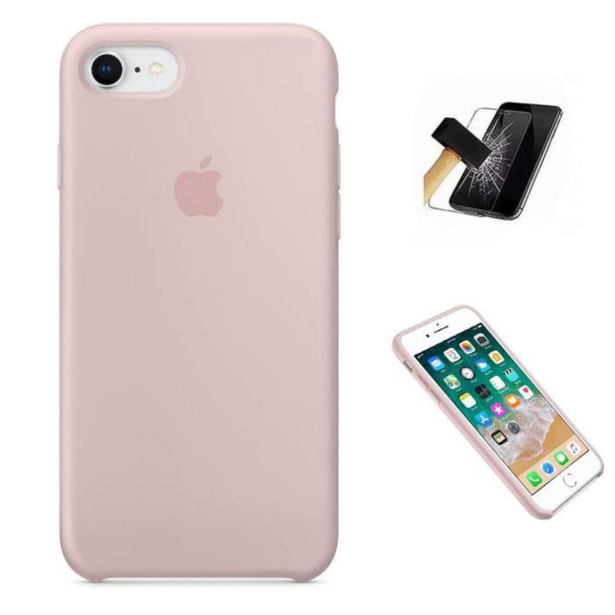 apple coque en silicone pour iphone 6 iphone 6s ro
