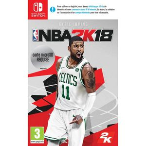 JEU NINTENDO SWITCH NBA 2K18 Jeu Switch