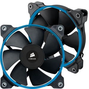 Corsair 2 Ventilateurs de boîtier Air Series SP120 PWM - Quiet Edition - 120 mm